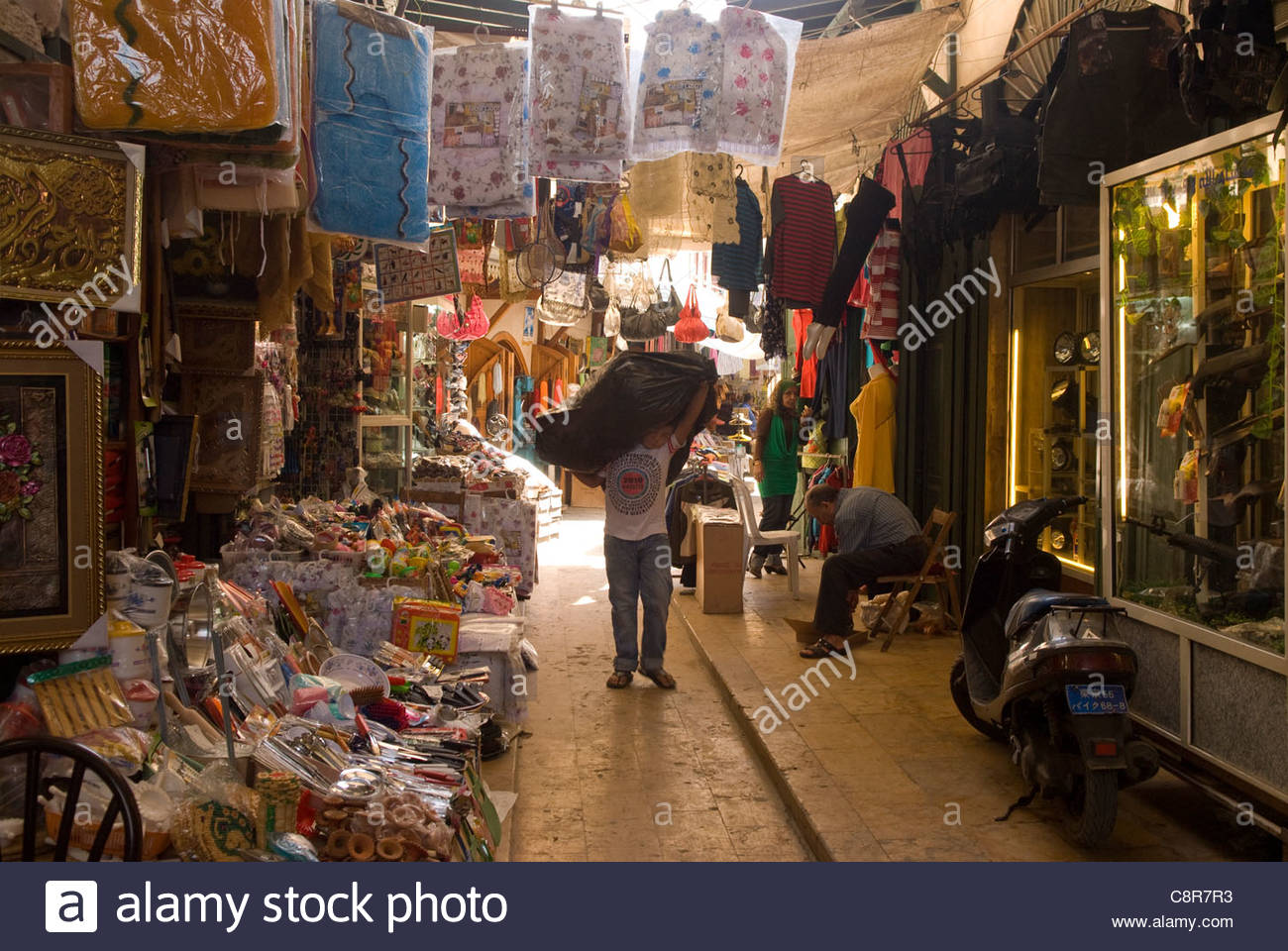 Souq Al Haraj Tripoli, Scene in the souk al-Haraj, Tripoli, northern Lebanon Stock Photo ...