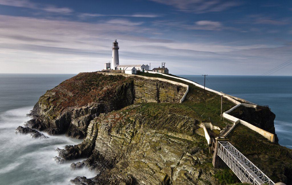 South Stack Lighthouse Holyhead, South Stack Lighthouse, Holyhead, Wales | Adam Bird | Flickr