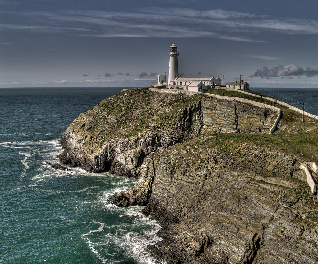 South Stack Lighthouse Holyhead, South Stack Lighthouse, Holyhead | Peter Holloway