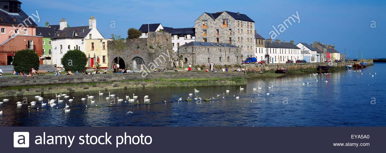 Spanish Arch Galway City, Spanish Arch, Galway City, Ireland Stock Photo, Royalty Free Image ...