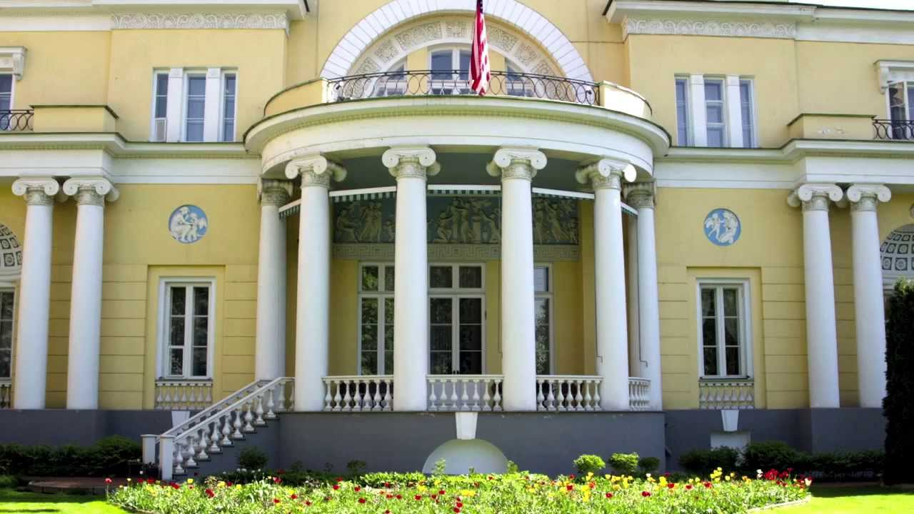 Spaso House Moscow, Spaso House: An Architectural Gem of Moscow - YouTube