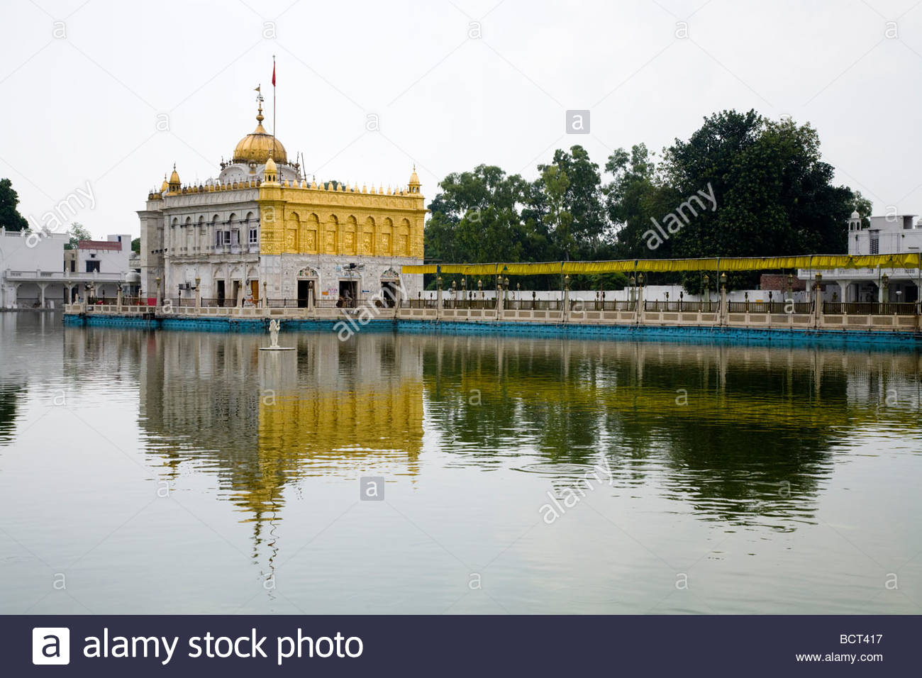 Sri Durgiana Temple Amritsar, Sri Durgiana Hindu Temple, built in the style of the Sikh's Golden ...