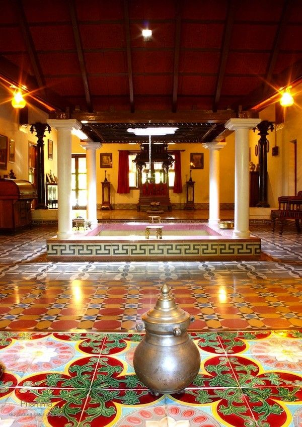 Sri Ganapathy Tiles Chettinadu, 69 best Chettinad House Design images on Pinterest | Indian ...
