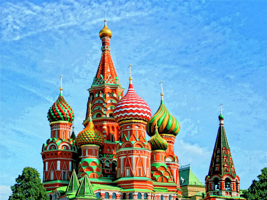 St Basil's Cathedral Moscow, St. Basil's Cathedral near Red Square in Moscow, Russia | Encircle ...