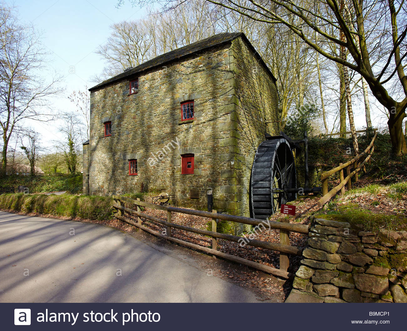 St. Fagans National History Museum South Wales, Melin Bompren Corn Mill, St Fagans National History Museum, St ...