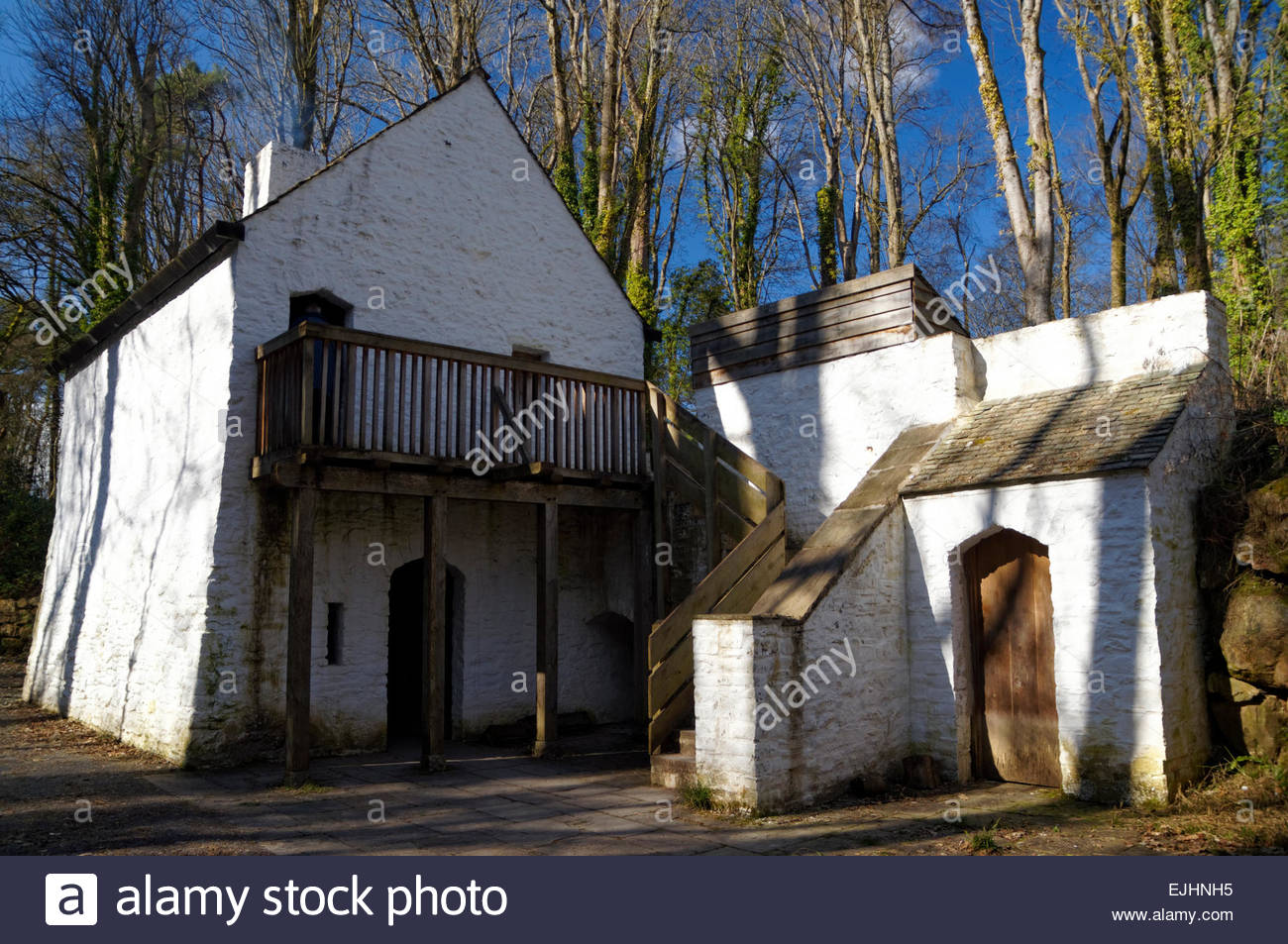 St. Fagans National History Museum South Wales, Tudor House, St Fagans National History Museum/Amgueddfa Werin ...