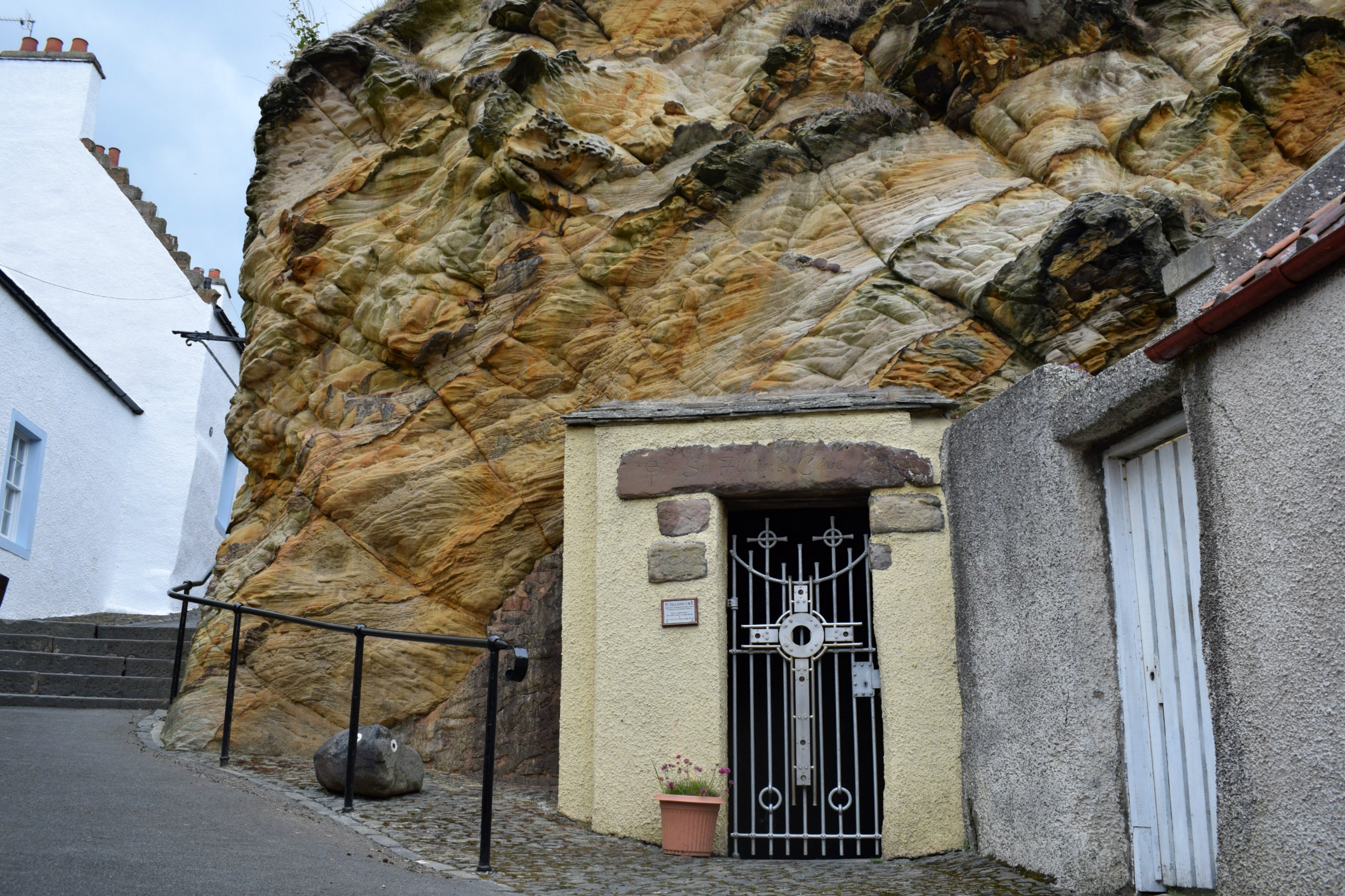 St. Fillan's Cave Fife and Angus, A Day in the East Neuk - This Mother - A UK Family and Travel Blog