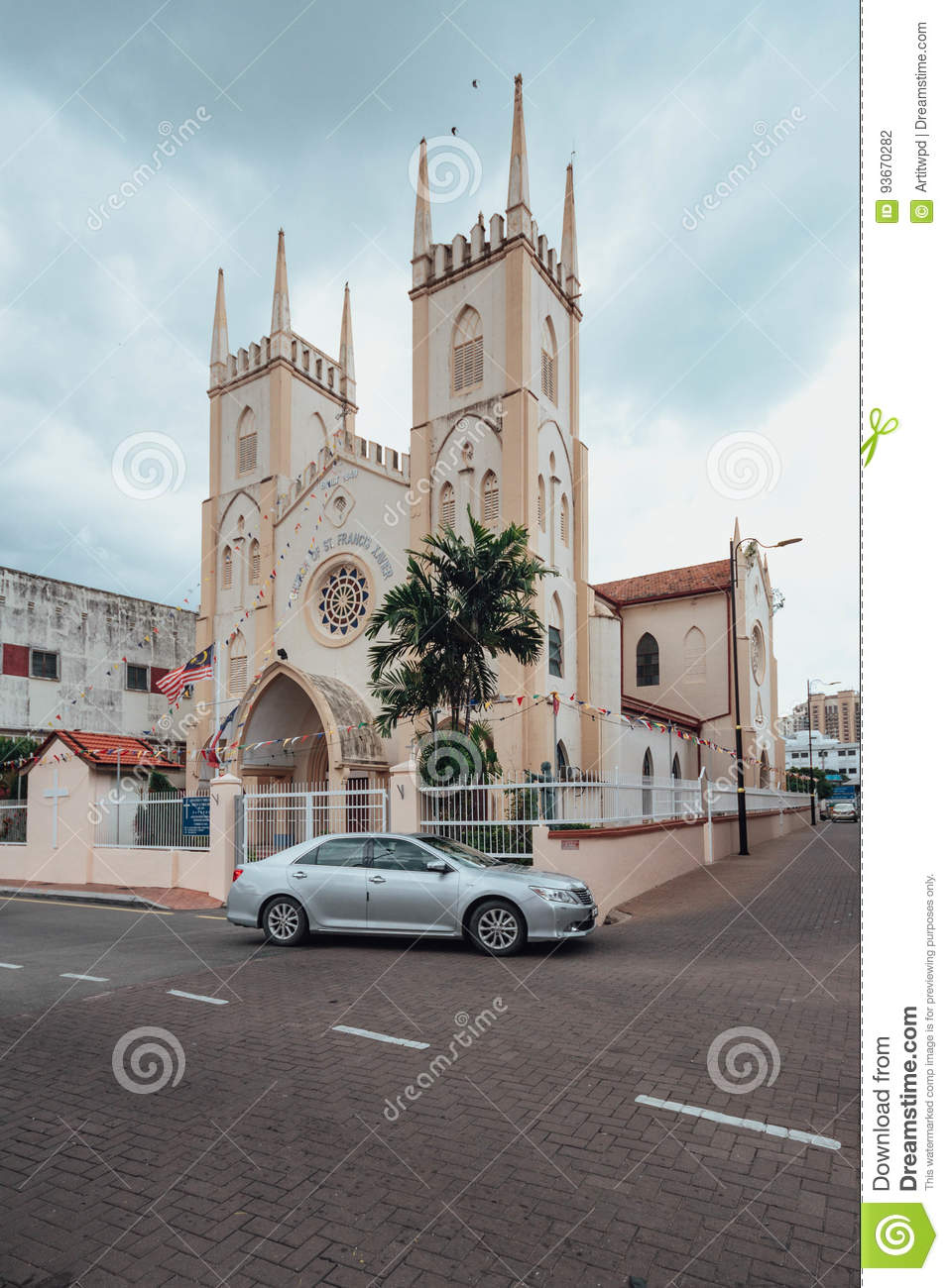 St Francis Xavier's Church Melaka City, The Church Of St. Francis Xavier Malay: Gereja St. Francis Xavier ...