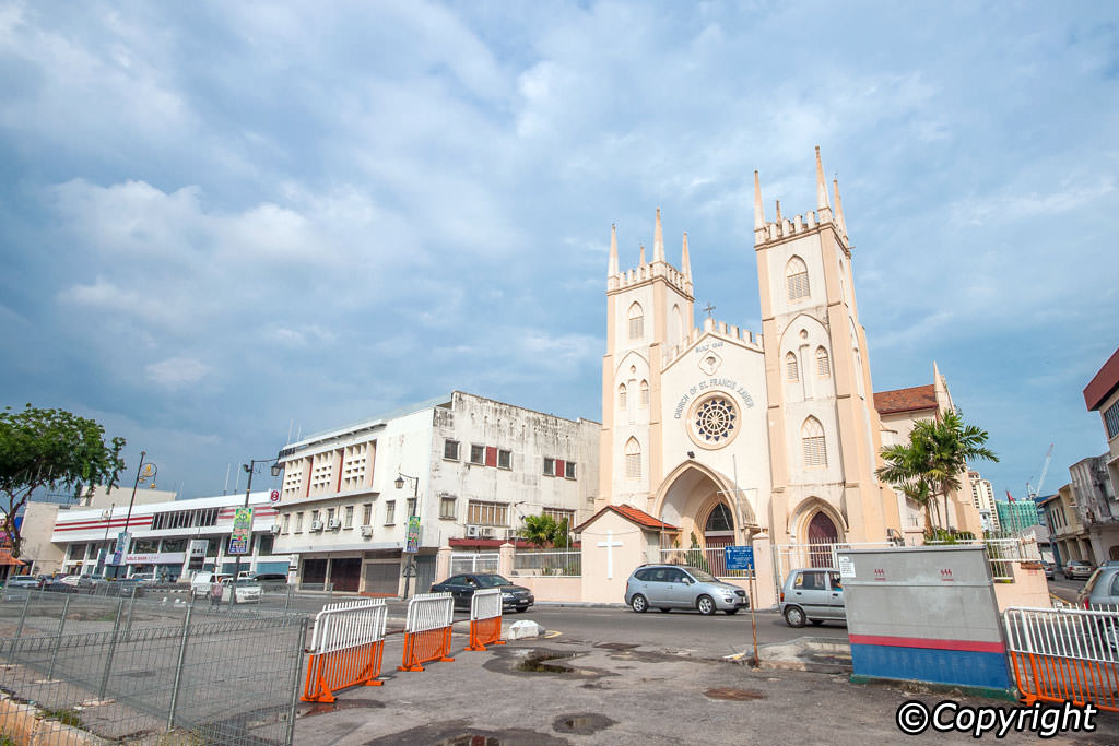 St Francis Xavier's Church Melaka City, St Francis Xavier's Church Melaka - Malacca City Attractions