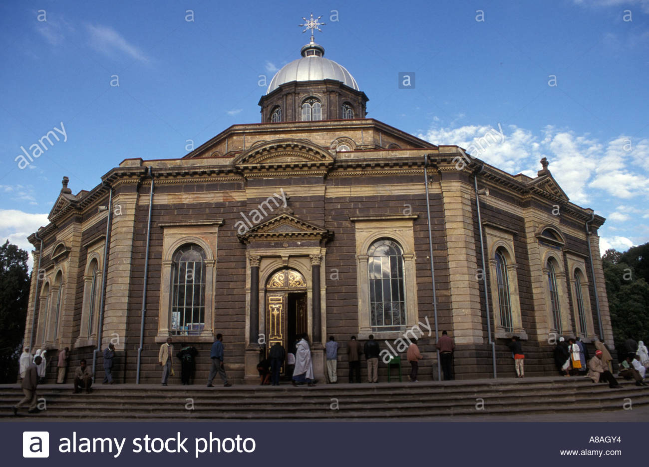 St George Cathedral & Museum Addis Ababa, St George's Cathedral, Addis Ababa, Ethiopia Stock Photo, Royalty ...