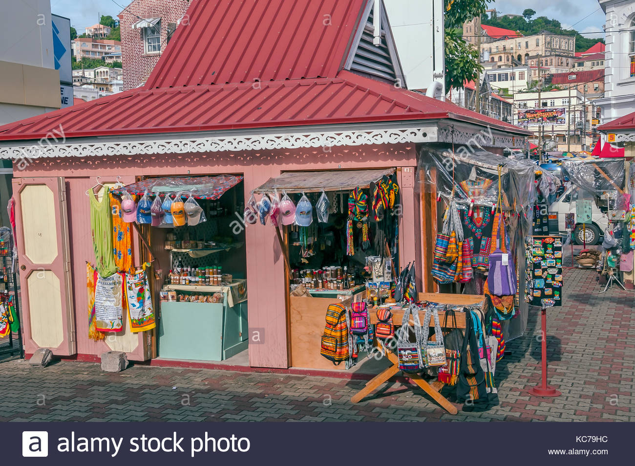 St George's Market Square St George's, Grenada St Georges Market Square Stock Photos & Grenada St Georges ...