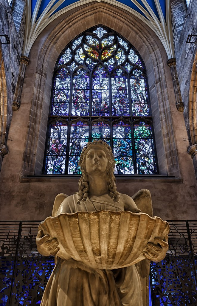 St. Giles Church Aberdeen and the Northeast, Guardian Angel St. Giles' Cathedral Edinburgh, Scotland ...