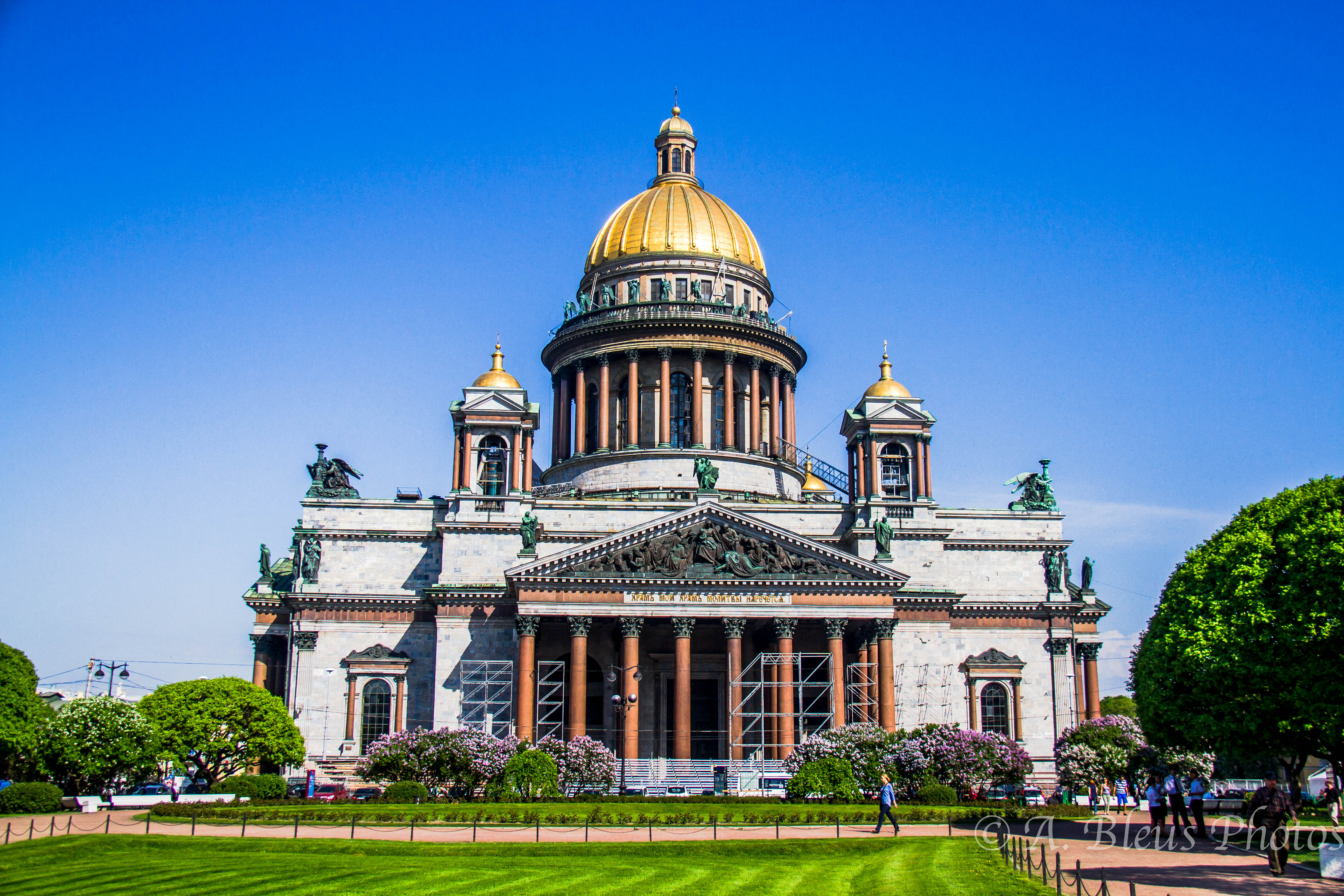 St Isaac's Cathedral St Petersburg, St. Isaac Cathedral, St. Petersburg, Russia | Alix Bléus