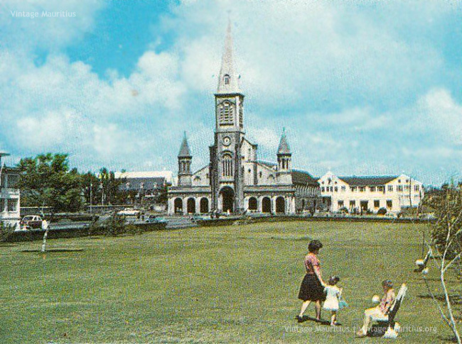 St James Cathedral Port Louis, Port Louis - The Saint James Anglican Cathedral - 1960s - Vintage ...