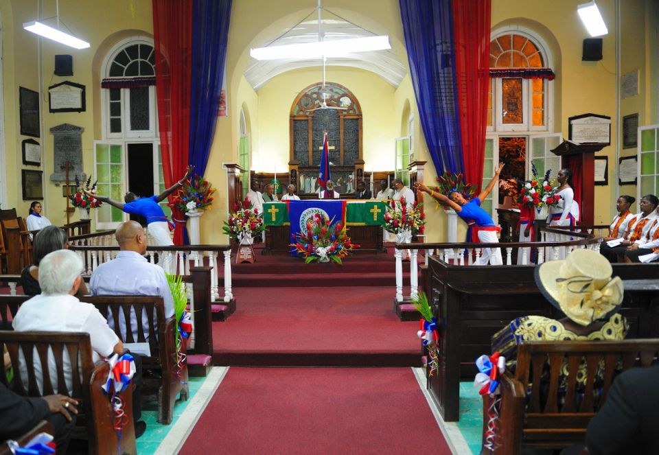 St John's Cathedral Belize City, Belize Independence Dispatch: The National Service at St. John's ...