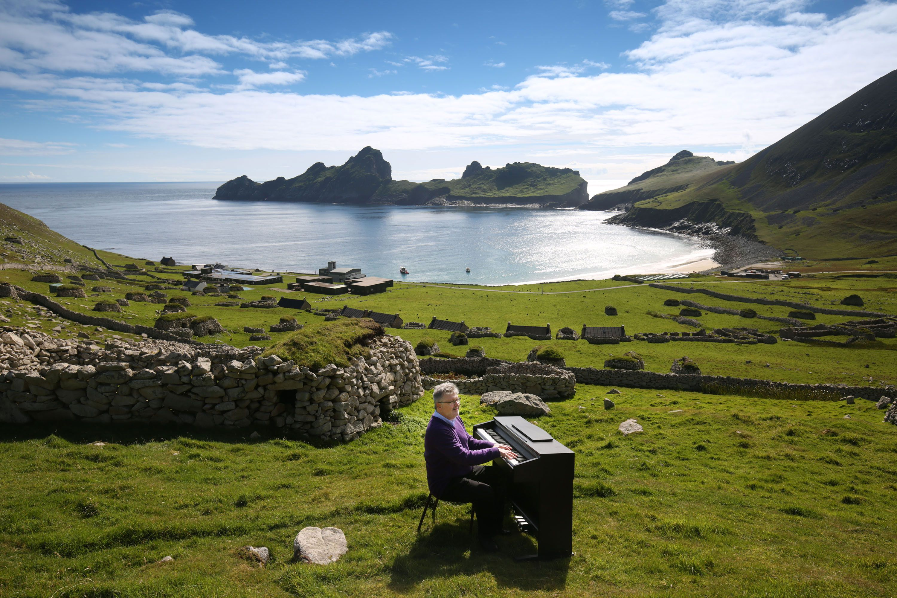 St. Kilda The Northern Highlands and the Western Isles, Lost music of St Kilda was discovered, went straight to number one ...