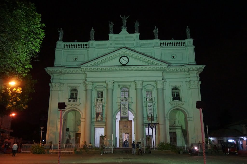 St Lucia's Cathedral Colombo, Panoramio - Photo of St Lucia's Cathedral, Colombo, Sri Lanka