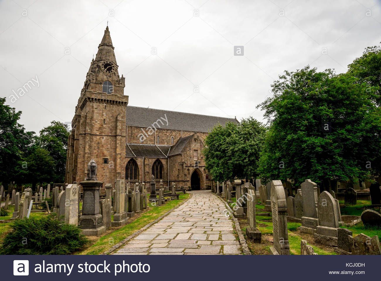 St. Machar's Cathedral Aberdeen and the Northeast, Aberdeen Granite Stock Photos & Aberdeen Granite Stock Images - Alamy