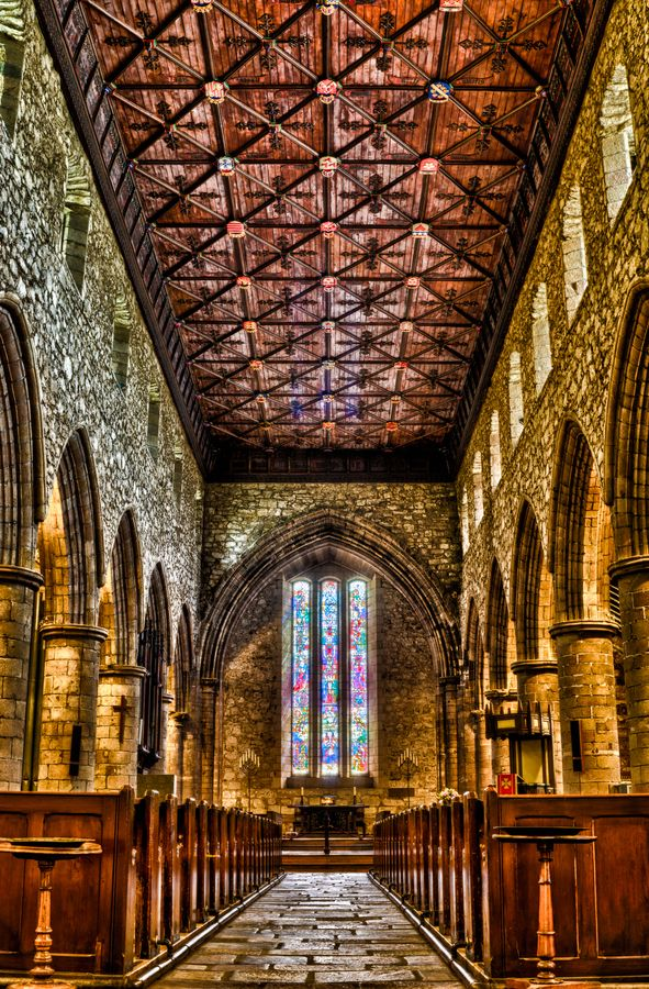 St. Machar's Cathedral Aberdeen and the Northeast, St Machar Cathedral, Interior Andrew Ramsay - Located Aberdeen ...