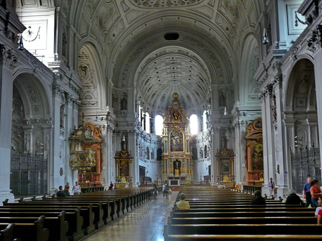 St. Michael's Church The Black Forest, St. Michael's Church, Munich. | Churches | Pinterest | Munich ...