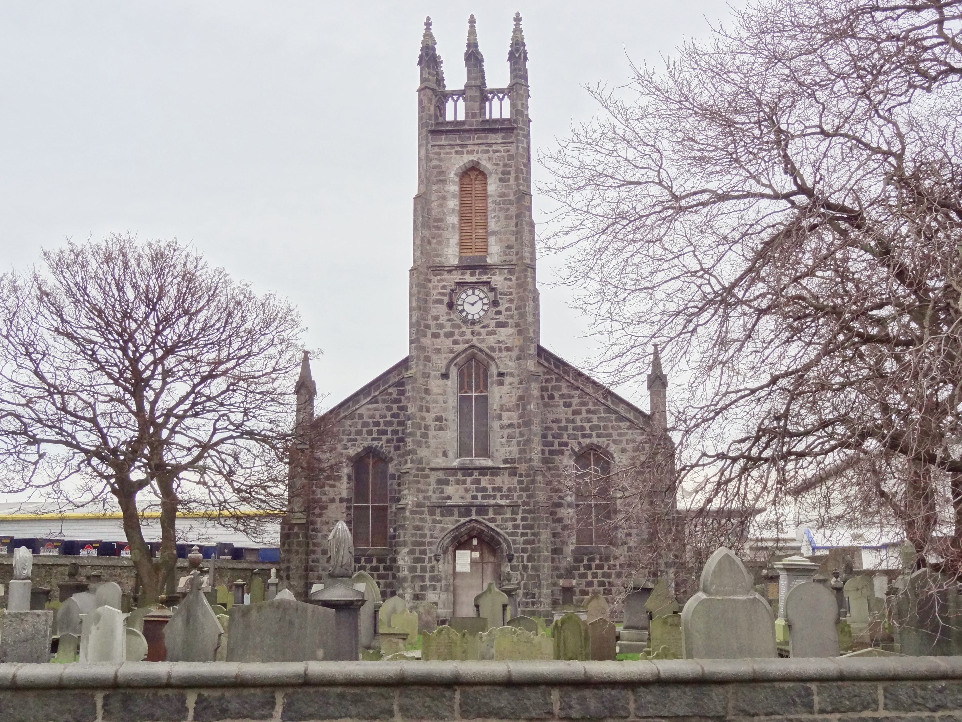 St. Nicholas Kirk Aberdeen and the Northeast, St Clement's cemetery: Hark! from the tombs a doleful sound ...