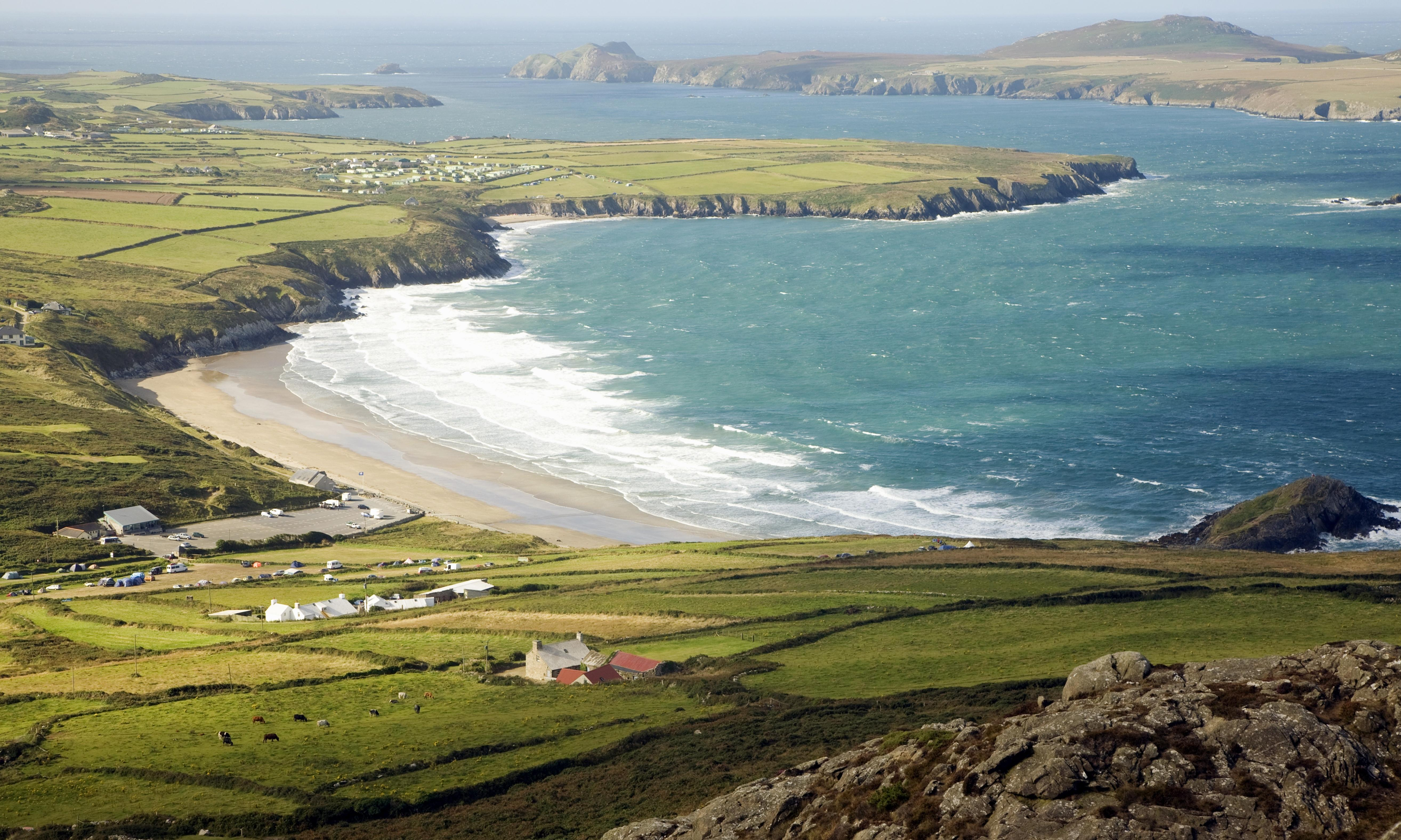 St Non's Bay St Davids (Tyddewi), Pembrokeshire is magically out of sync with modern times' | Tim o ...