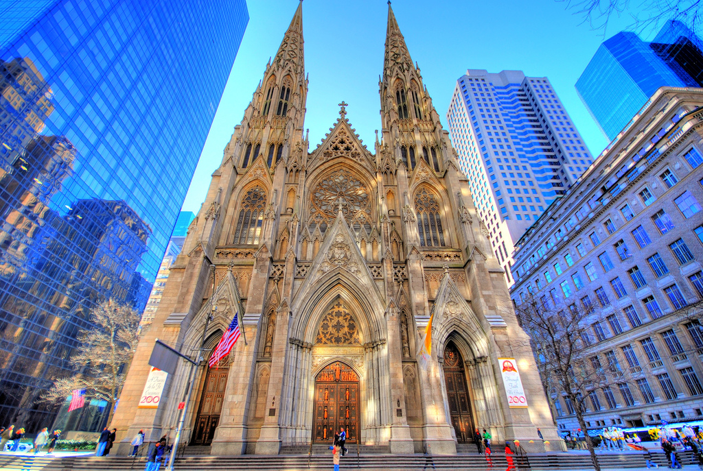 St. Patrick's Old Cathedral New York City, Turnstile NYC Thursday XVIII: