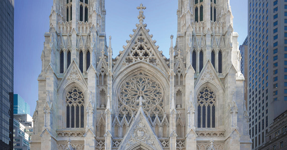 St. Patrick's Old Cathedral New York City, The restoration of St. Patrick's Cathedral - CBS News