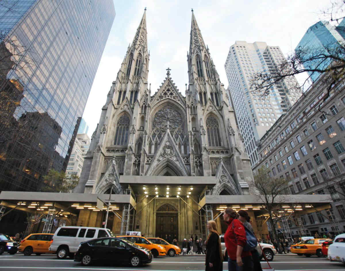 St. Patrick's Old Cathedral New York City, Saint Charbel Shrine Inaugurated at Saint Patrick's Cathedral in ...