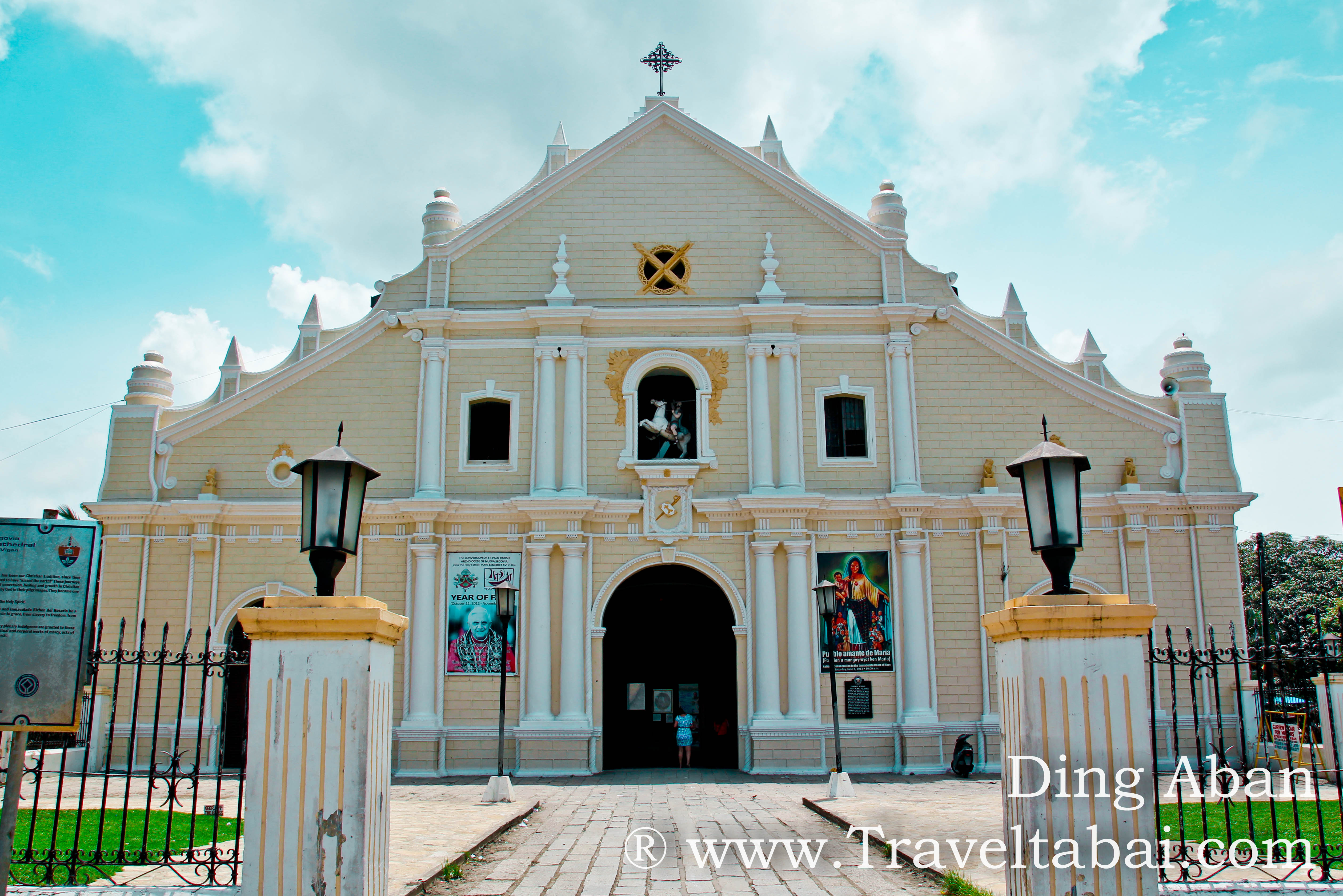 St Paul Cathedral Vigan, Ilocos Sur: Vigan Cathedral - Travel Ta Bai + 1 | Travel Ta Bai + 1