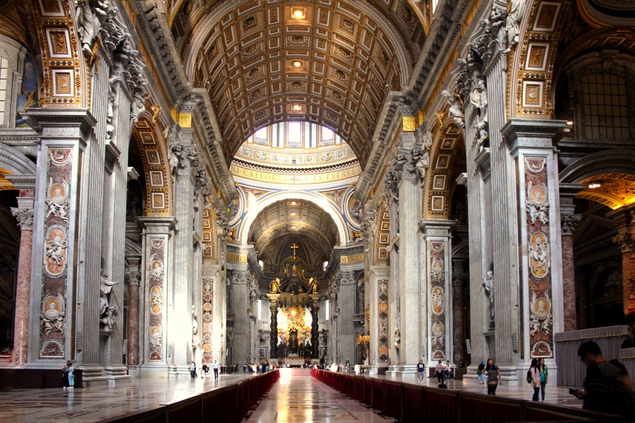 St Peter's Basilica Rome, Visiting the Vatican