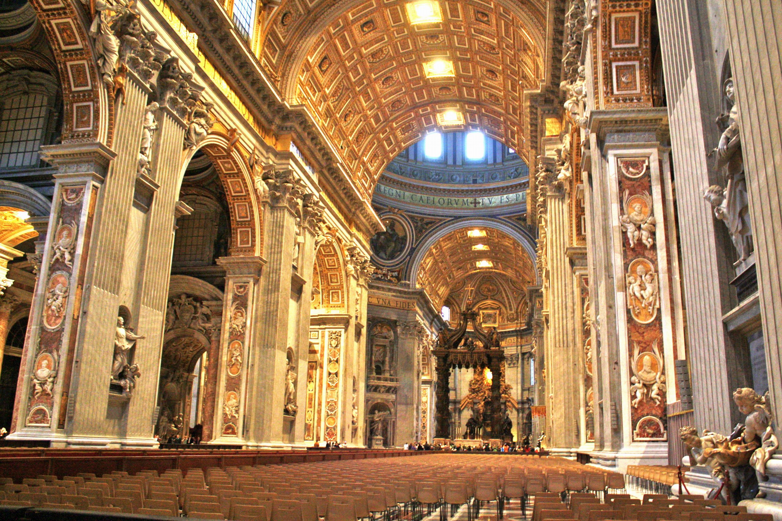 St Peter's Basilica Rome, St. Peter's Basilica Vatican City | Oh, The Places You've Been ...