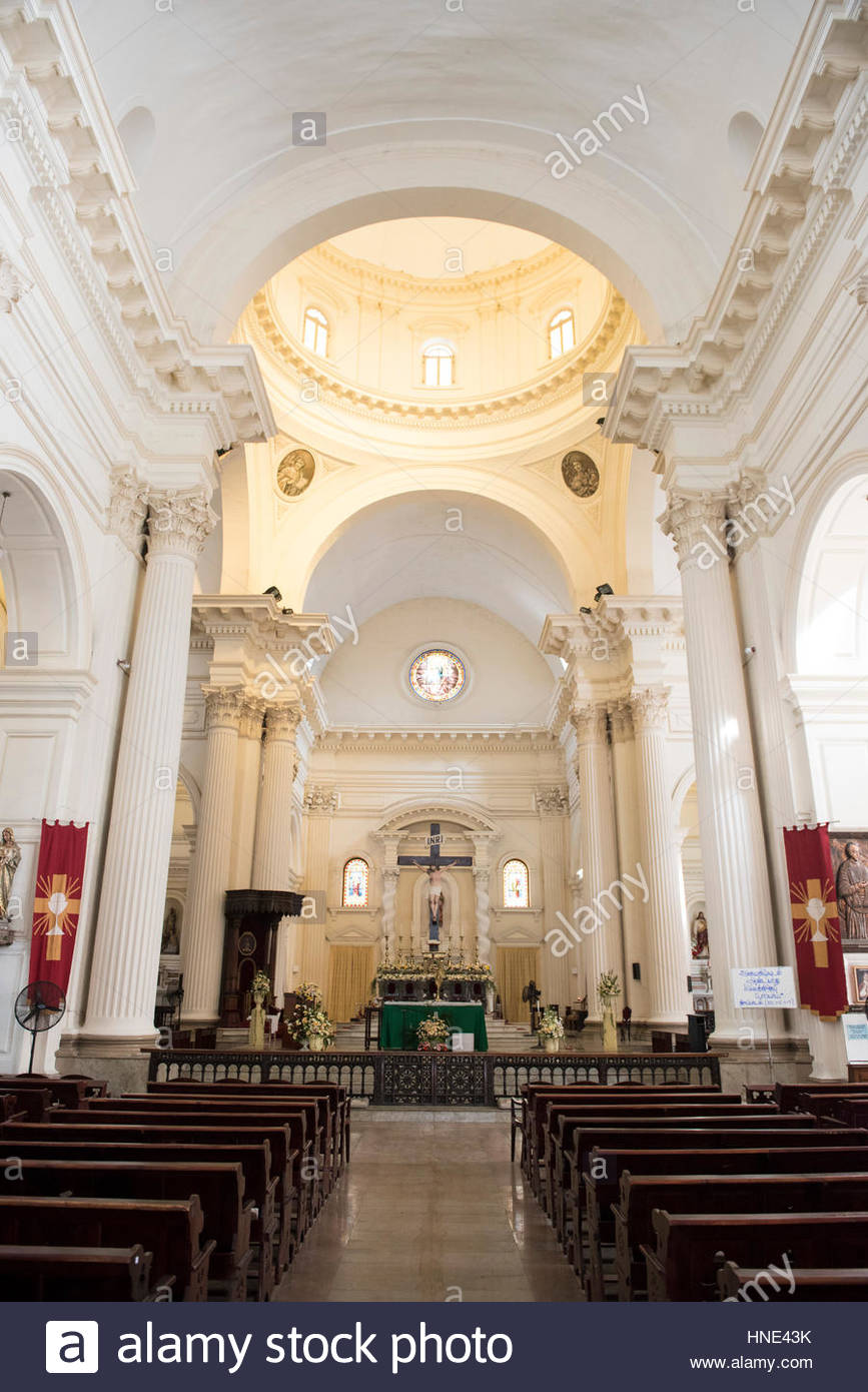 St Peter's Church Colombo, Roman Catholic Santa Lucia Cathedral was built to resemble St ...