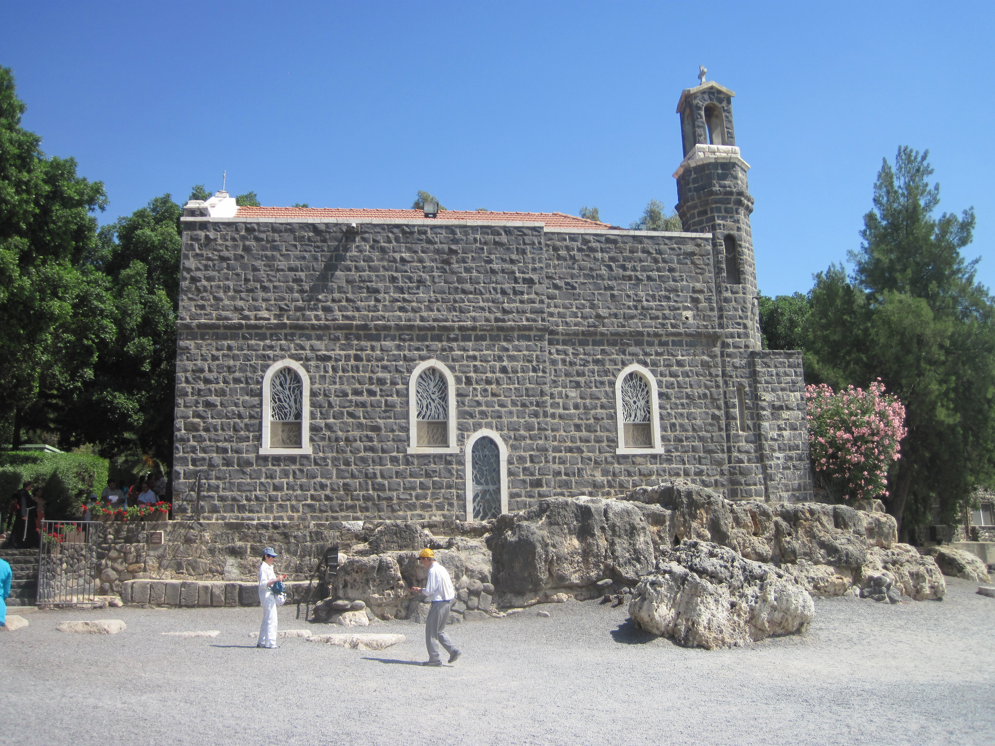 St Peter's Church Tiberias, loaves and fishes | To Repair the Broken Net