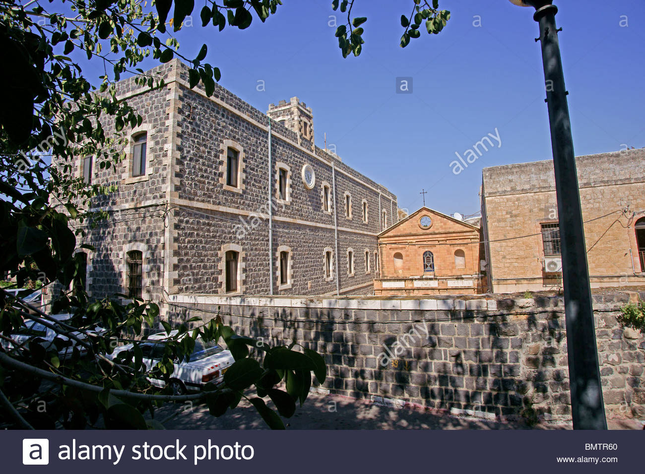 St Peter's Church Tiberias, Israel, Tiberias, The St Peter Church on the water front of the ...