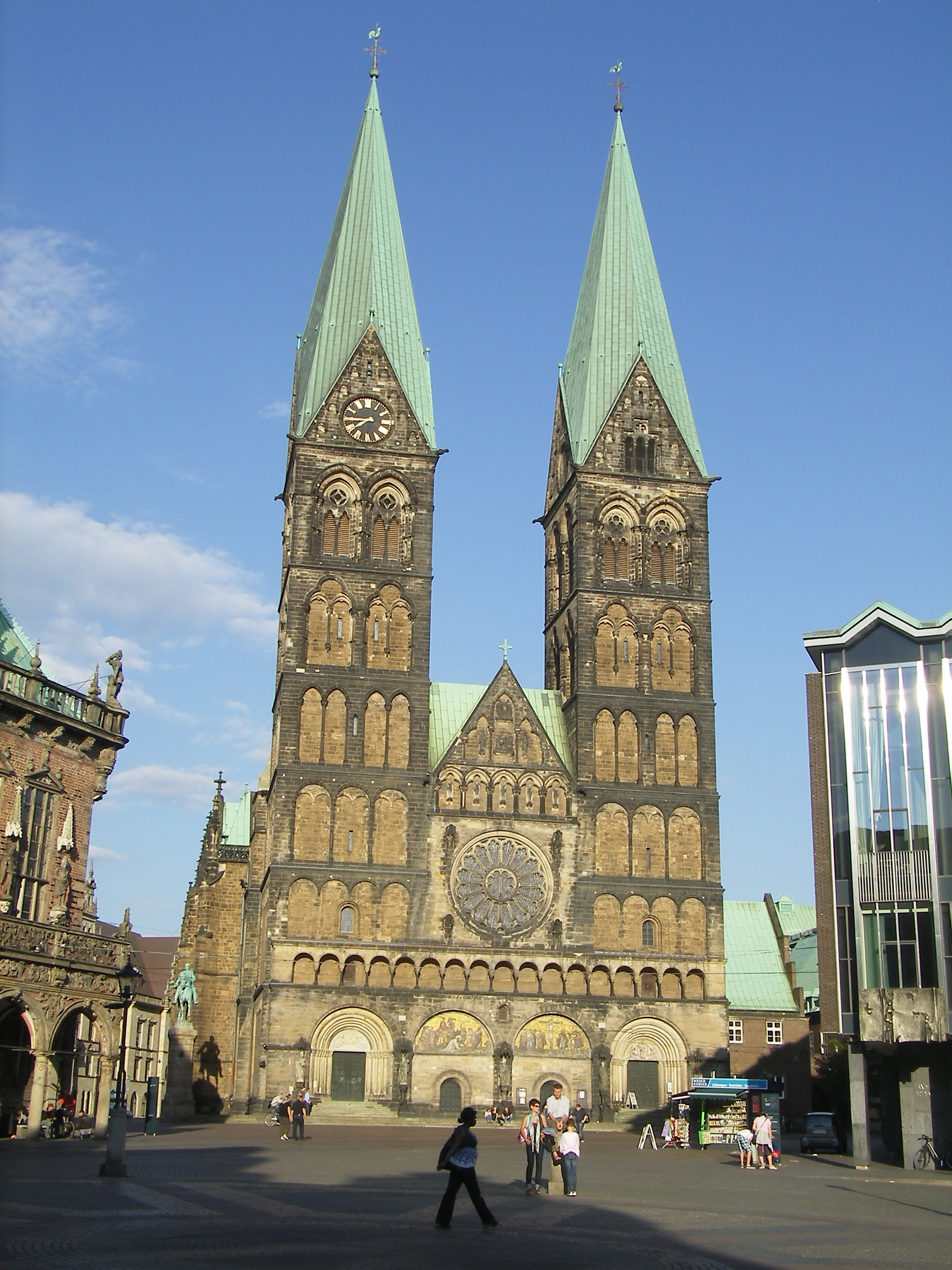 St. Petri Dom The Fairy-Tale Road, St. Petri Dom in Bremen, Germany | Cathedrals & Old Churches of ...