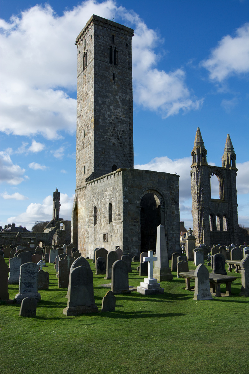 St. Rule's Tower Fife and Angus, St Andrews: the legacy of St Rule – The Hazel Tree
