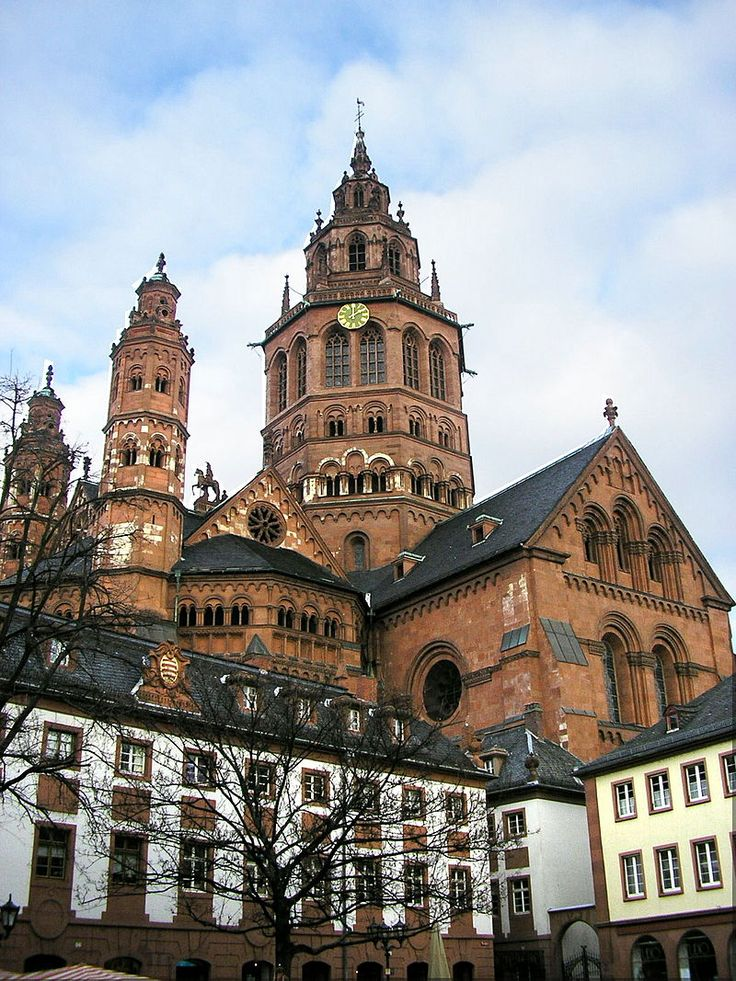 St. Stephanskirche The Pfalz and Rhine Terrace, 8 best Johannisnacht in Mainz images on Pinterest | Mainz ...