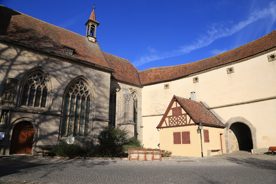 St. Wolfgang Church The Romantic Road, Rothenburg ob der Tauber: medieval city by day | Fotoeins Fotografie