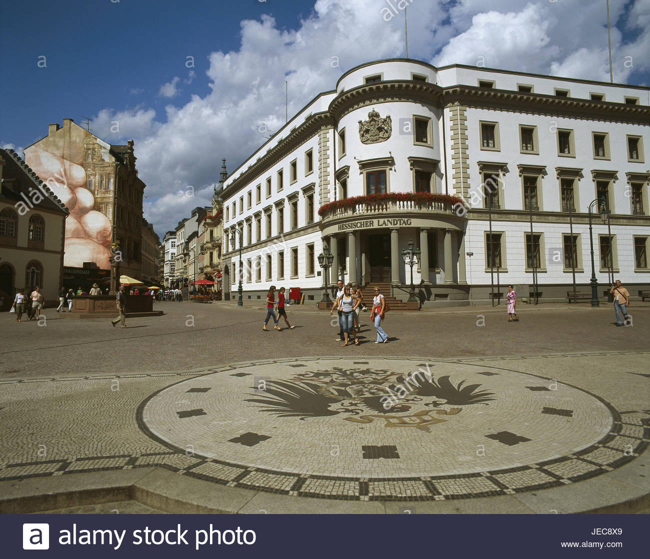 Stadtschloss The Fairy-Tale Road, Mosaic Castle Stock Photos & Mosaic Castle Stock Images - Alamy