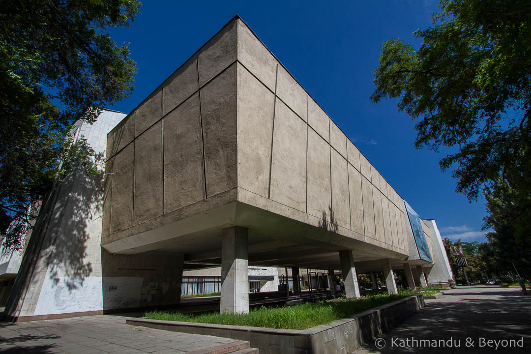 State Museum of Fine Arts Bishkek, Architectonic | Brutalism, Modernism, Monuments and Spomeniks
