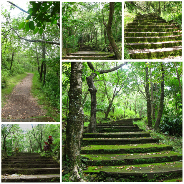 Stations of the Cross Camiguin, Camiguin: Walkway to the Old Volcano and Stations of the Cross ...