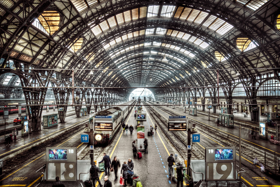 Stazione Centrale Milan, Stazione Centrale Milano | HDR One - Online Photography Magazine