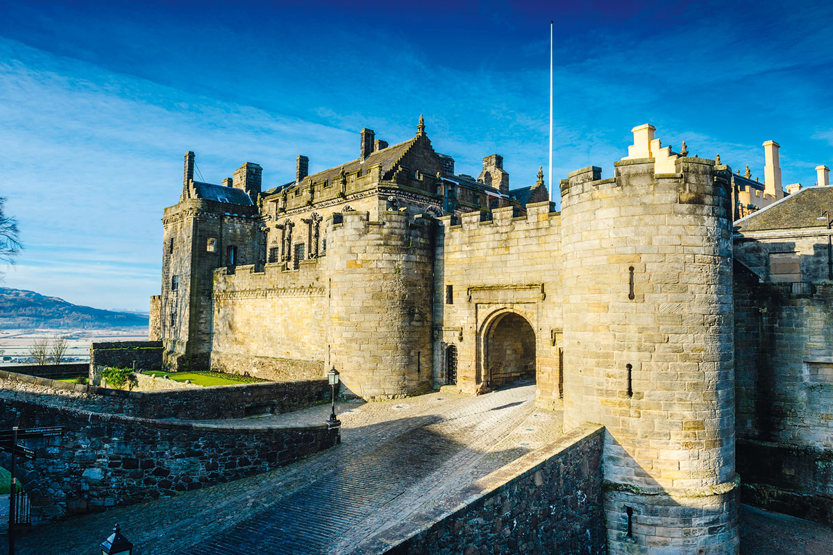Stirling Castle Stirling, Walk: Stirling Castle, Stirlingshire | Countryfile.com