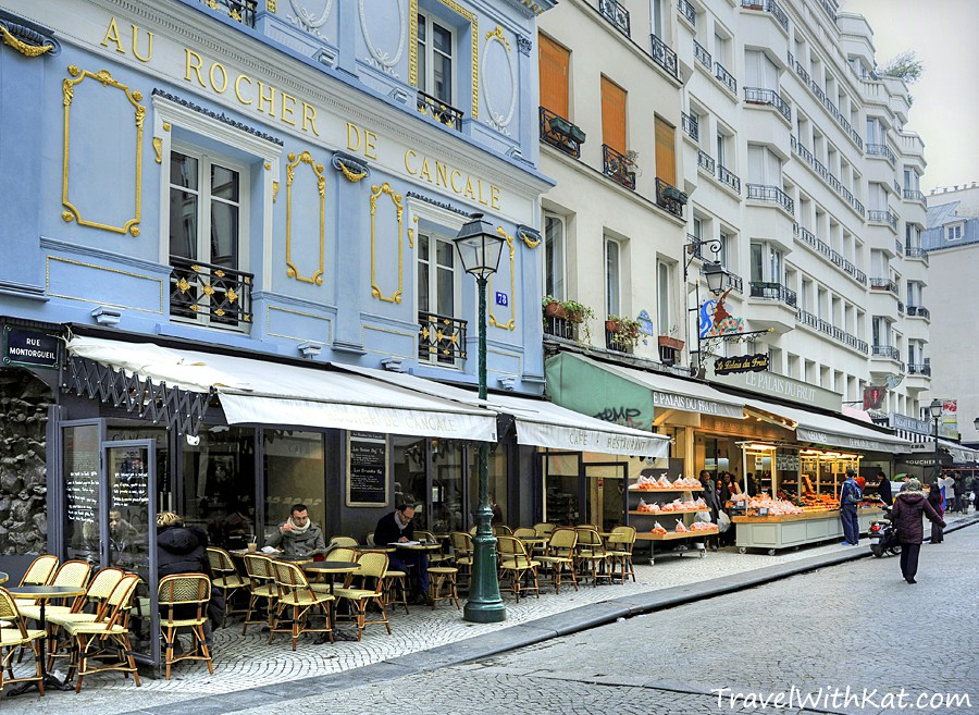 St-Julien-le-Pauvre Paris, Rue Montorgueil, Paris - a food lover's delight! - Travel with Kat