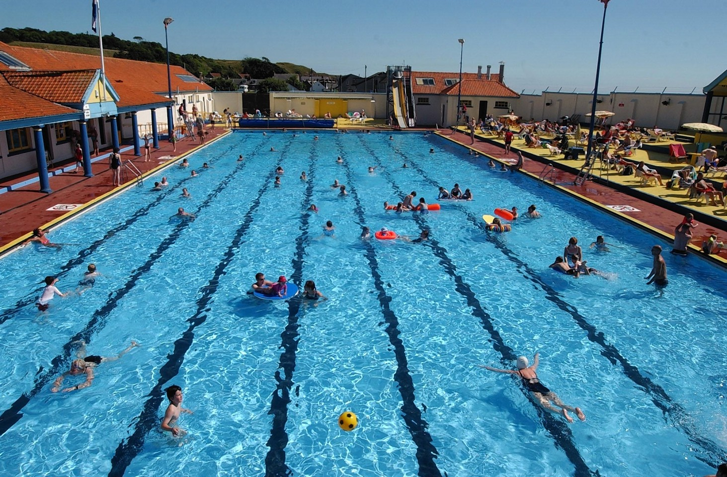 Stonehaven open air swimming pool scotland - Camella northpoint swimming pool rate ...
