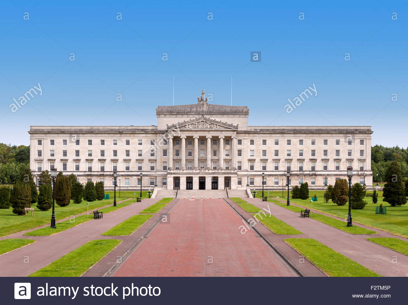 Stormont Belfast, Northern Ireland Assembly and Government building in Stormont ...