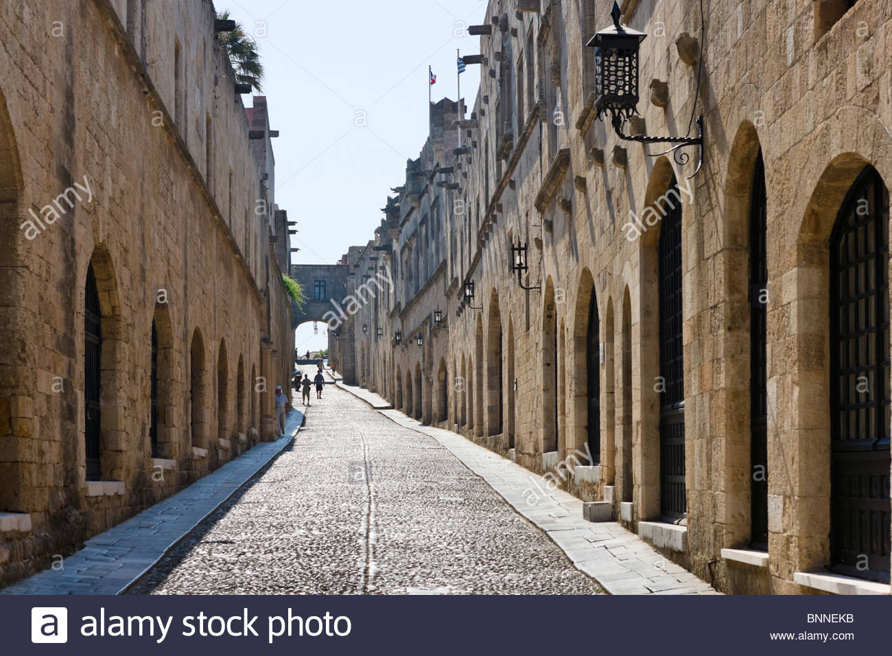 Street of the Knights Rhodes Town, Odos Ippoton (Street of the Knights), Rhodes Town, Rhodes, Greece ...