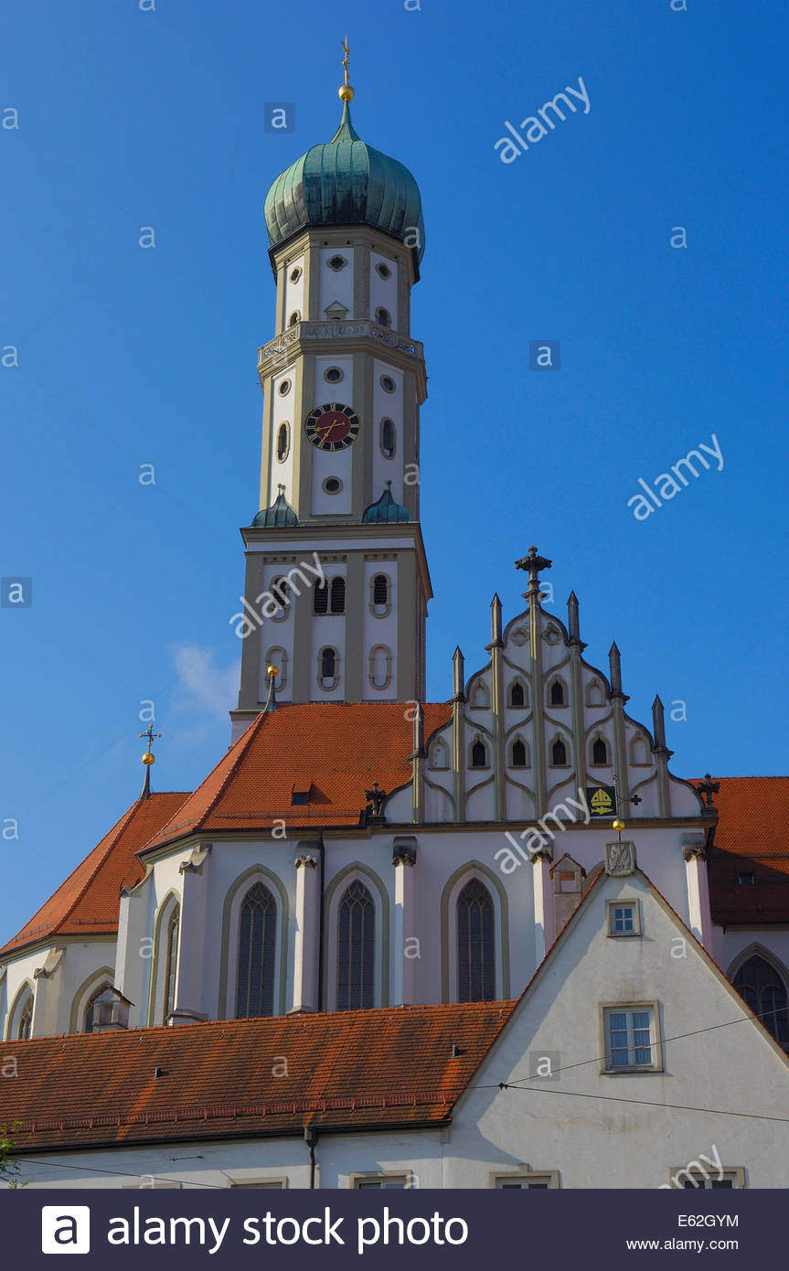 Sts. Ulrich and Afra The Romantic Road, Augsburg, St. Ulrich Church, Romantische Strasse, Romantic Road ...