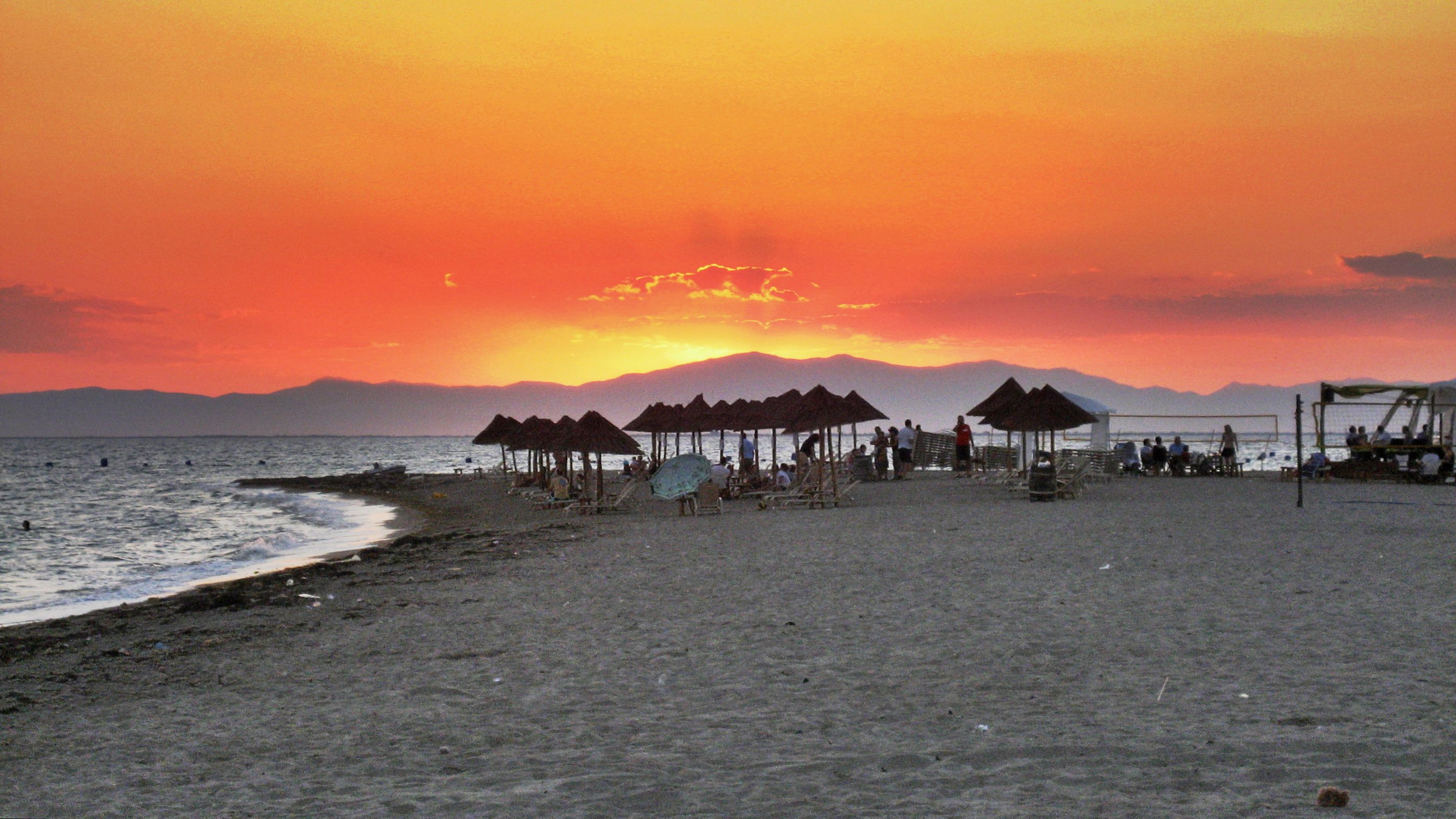Sunset Beach The Cyclades, Sunset - Beach Bar - Anggelochori Photo from Enia in Thessaloniki ...